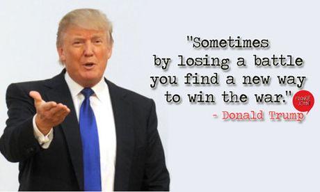 Ong Donald Trump va nhung cau noi 'kinh dien' - Anh 1