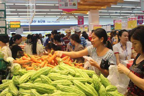 Saigon Co.op chuan bi hon 110.000 tan hang hoa phuc vu tet - Anh 1