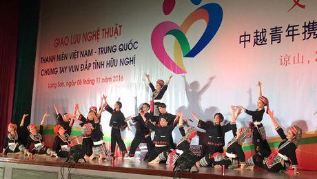 Giao luu 'Thanh nien Viet Nam - Trung Quoc chung tay vun dap tinh huu nghi' - Anh 1