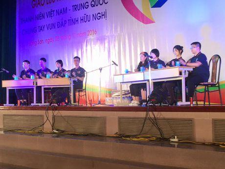 Giao luu 'Thanh nien Viet Nam - Trung Quoc chung tay vun dap tinh huu nghi' - Anh 2