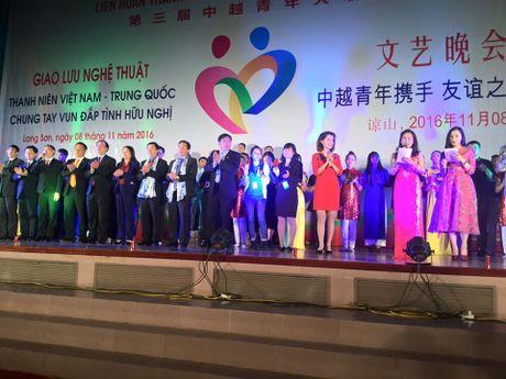 Giao luu 'Thanh nien Viet Nam - Trung Quoc chung tay vun dap tinh huu nghi' - Anh 3