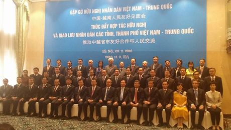 Thuc day hop tac huu nghi va ngoai giao nhan dan hai nuoc Viet - Trung - Anh 1