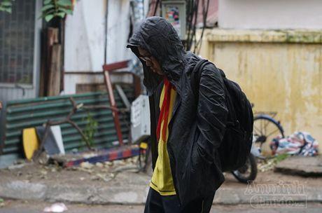 Nguoi Ha Noi co ro trong dot lanh sau dau mua dong - Anh 1