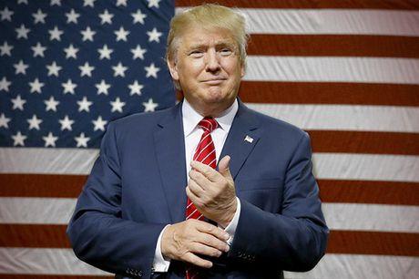 Ty phu Donald Trump tro thanh Tong thong thu 45 cua nuoc My - Anh 1