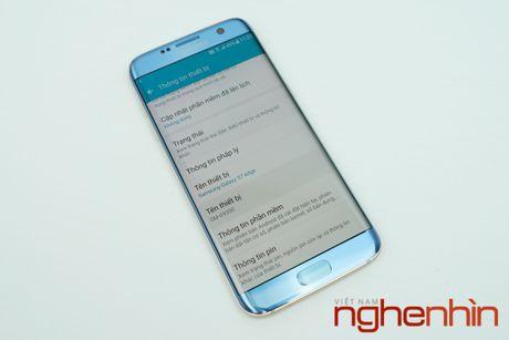 Mo hop Galaxy S7 edge xanh san ho xach tay gia 15,5 trieu - Anh 4