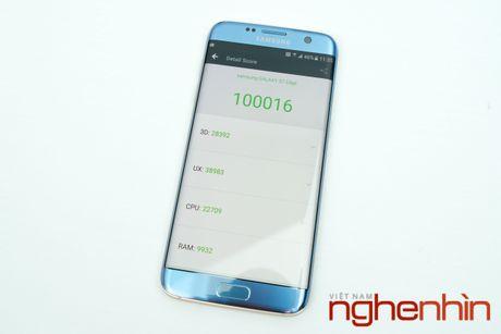 Mo hop Galaxy S7 edge xanh san ho xach tay gia 15,5 trieu - Anh 5