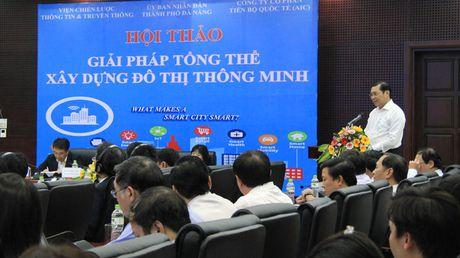 Da Nang: Huong toi xay dung mo hinh thanh pho thong minh - Anh 2
