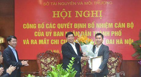 Ong Le Tuan Dinh duoc bo nhiem giu chuc Pho Giam doc So TN&MT Ha Noi - Anh 1