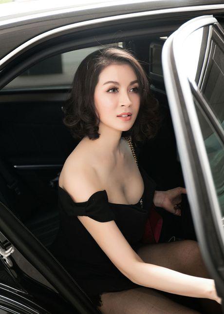 Mac vay cuc ngan, ho bao, Thanh Mai 'thach thuc' tuoi 43 - Anh 2