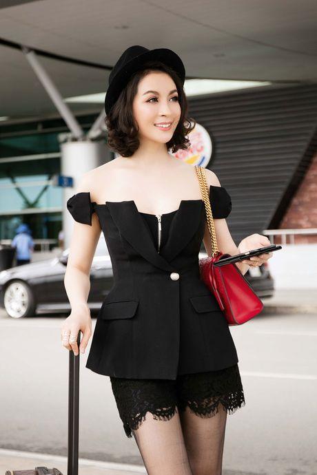 Mac vay cuc ngan, ho bao, Thanh Mai 'thach thuc' tuoi 43 - Anh 4