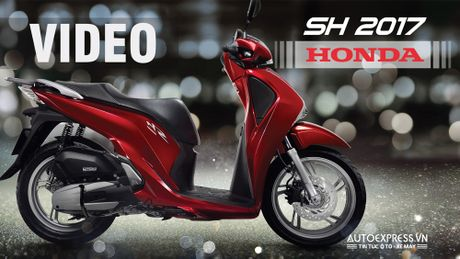 Can canh Honda SH 2017 moi trang bi phanh ABS, gia tu 68 trieu dong tai Viet Nam - Anh 1