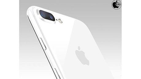 Sau den bong, Apple co the ra mat iPhone mau trang bong - Anh 1