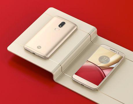 Moto M ra mat: Chip 8 nhan, RAM 4GB, gia 295USD - Anh 1