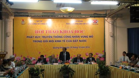 Phat huy truyen thong cong nhan vung Mo trong doi moi dat nuoc - Anh 3