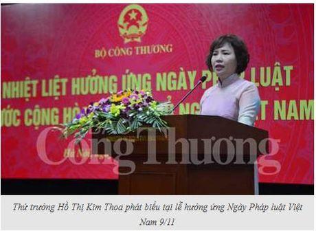 Bo Cong Thuong huong ung Ngay Phap luat Viet Nam - Anh 1