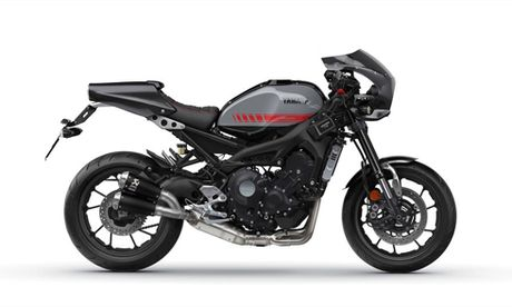 Yamaha XSR 900 Abarth - nakedbike dam chat cafe racer - Anh 1