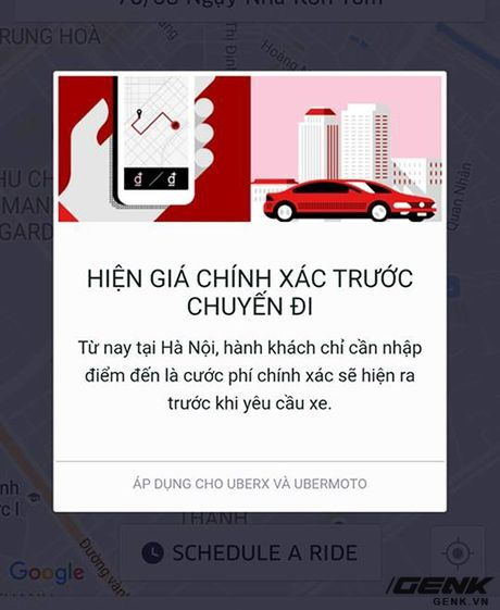 An trua bang Uber kieu moi xem gia ca thay doi nhu the nao? - Anh 1