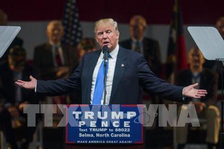 Bau cu My 2016: Ty phu D.Trump duy tri the dan truoc - Anh 1