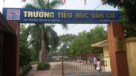 Truong Tieu hoc Van Co - Viet Tri, Phu Tho: Hieu truong chi dao thu nhieu khoan trai phap luat? - Anh 1
