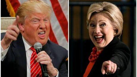 Cuoc ruot duoi khong the nghet tho hon giua Hillary va Trump - Anh 1