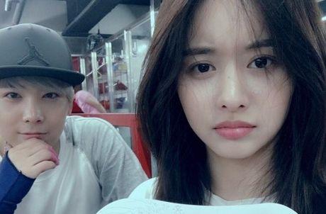 Hot: Hongki (F.T.Island) xac nhan hen ho 'dan chi' Han Bo Reum - Anh 3