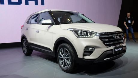 Hyundai Creta ban cai tien trinh lang o Brazil - Anh 1
