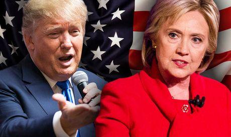 Truc tiep ket qua bau cu My: Trump dang thang the, gianh 137 phieu dai cu tri - Clinton 104 phieu - Anh 1