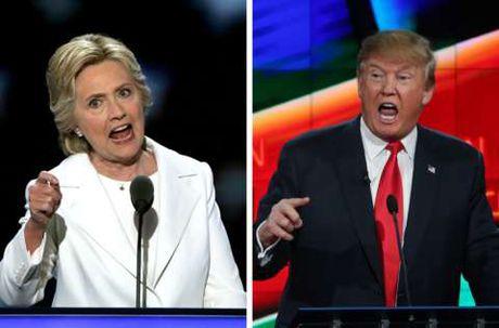 Truc tiep ket qua bau cu My: Trump dang thang the, gianh 137 phieu dai cu tri - Clinton 104 phieu - Anh 4