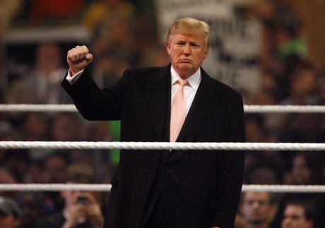 Ong Donald Trump tung cao dau doi thu tren san WWE - Anh 2