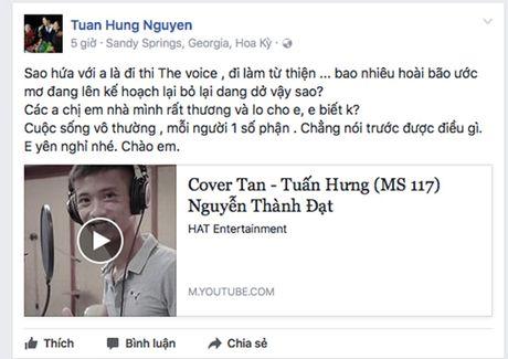 Sao Viet bay to xot thuong khi 'fan ruot' qua doi - Anh 1