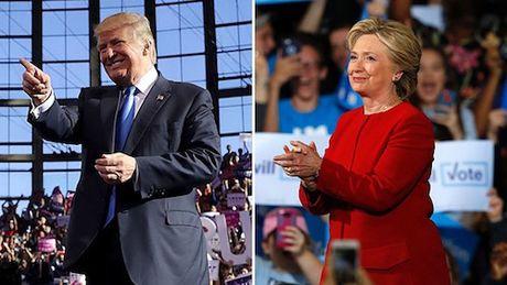 Trang web cua Trump va Clinton bi tan cong - Anh 1