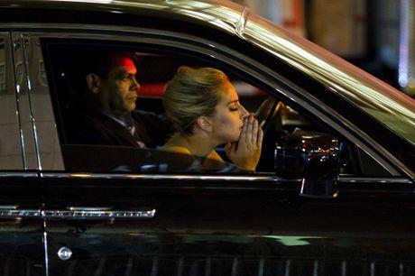 Lady Gaga bieu tinh ben ngoai toa nha cua Donald Trump - Anh 2