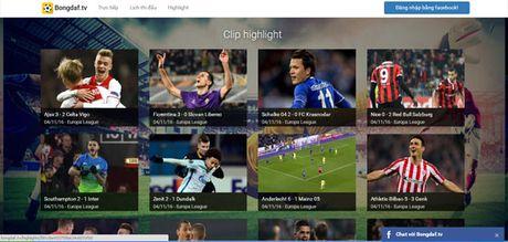 Nhieu trang web ngang nhien vi pham ban quyen Cup C1 - Anh 1