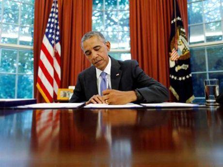 Di san cua Tong thong Obama - Anh 1
