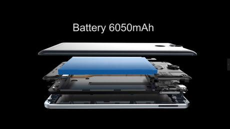 Ulefone Power: Smarphone pin lon 6.050 mAh - Anh 4