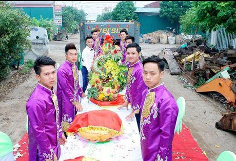Le an hoi to chuc tren thung xe tai o Vinh Phuc - Anh 1