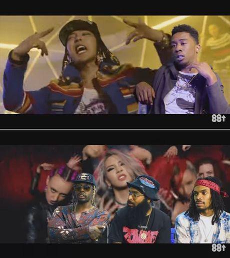 Rapper My bat ngo truoc kha nang cua G-Dragon va CL - Anh 1