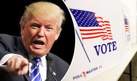 Trump to gian lan, may tu chuyen phieu cho Hillary - Anh 1