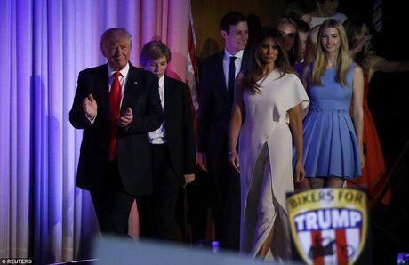 Gia dinh Donald Trump rang ro phut vinh quang - Anh 2