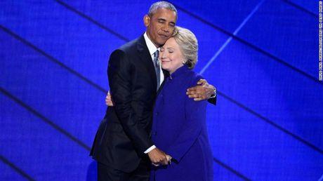 Ong Obama keu goi bo phieu cho ba Clinton - Anh 1