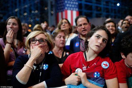 Bau cu My: Nghich canh giua nguoi ung ho Trump - Clinton - Anh 4