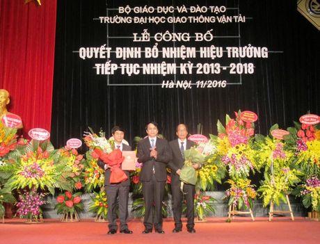 Truong Dai hoc GTVT co tan hieu truong - Anh 1
