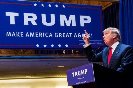 Cuoc doi tan Tong thong My Donald Trump qua anh - Anh 18