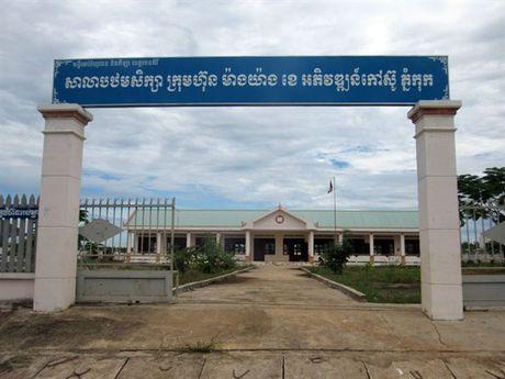 Nhung vuon cay cao su nghia tinh tai Campuchia - Anh 5