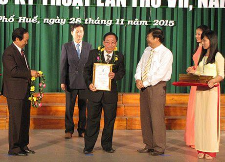 VNPT Thua Thien - Hue dat giai Nhat Sang tao KHCN tinh nam 2016 - Anh 1
