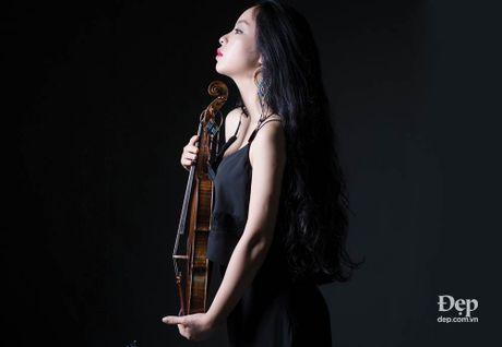 Violinist Trinh Minh Hien: Toi khong muon mot mau trong am nhac - Anh 1
