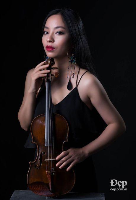 Violinist Trinh Minh Hien: Toi khong muon mot mau trong am nhac - Anh 2