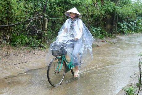 Hoa hau Pham Huong di dep le, dap xe trao qua tu thien o mien Trung - Anh 1