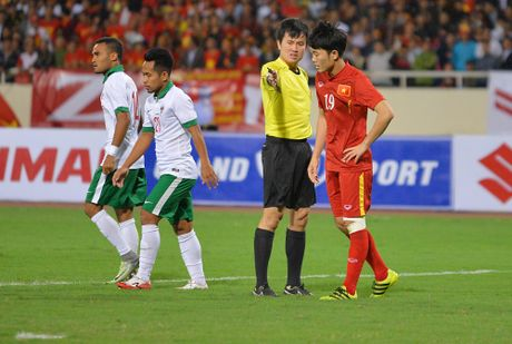 Toan canh chien thang nghet tho cua DT Viet Nam truoc DT Indonesia - Anh 17