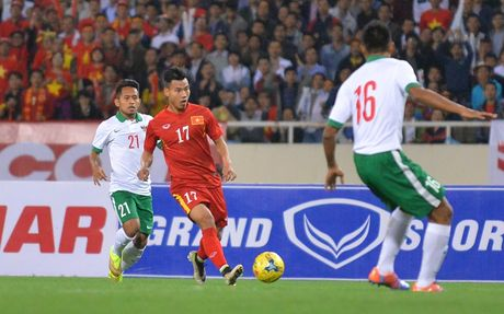 Toan canh chien thang nghet tho cua DT Viet Nam truoc DT Indonesia - Anh 8